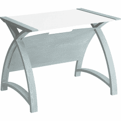 Jual Helsinki Table Grey with White Glass 900 PC201