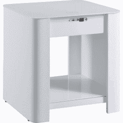Jual San Francisco Nightstand With Speakers White JF406