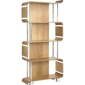 Jual Bali BS201 BOOK SHELF OAK Bookcase