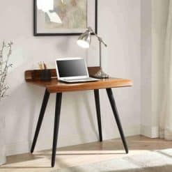 Jual Vienna PC608 900mm Desk Walnut Spindle Legs
