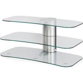 Off The Wall Arc 1000 Silver Medium TV Stand - ARC 1000 SIL