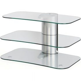 Off The Wall Arc 800 Silver TV Stand - ARC 800 SIL
