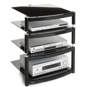Atacama Equinox Celebration Le Hi Fi Stand 1 Base And 2 Shelves Black