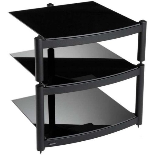 Atacama Equinox Hi Fi Stand 3 Shelf Black 1