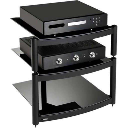Atacama Equinox Hi Fi Stand 3 Shelf Black