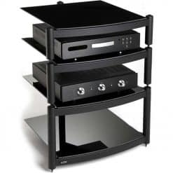 Atacama Equinox Hi-Fi Stand 4 Shelf Unit Black