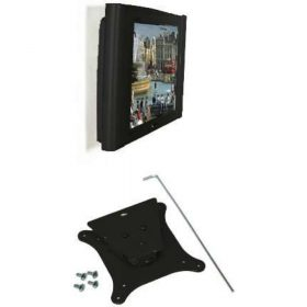 B-Tech BT7510 Low Profile LCD Wall Mount Bracket Black BT 7510 BT 7510