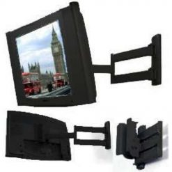 B-Tech BT7513 Small LCD TV Wall Arm Mount Piano Black