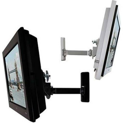 B-Tech BT7514 Medium LCD Monitor Wall Arm Silver Black BT 7514 BT 7514