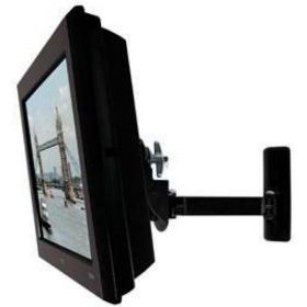 B-Tech BT7514 Pb Large LCD Monitor Wall Arm Piano Black