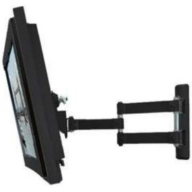 B-Tech BT7515 Medium LCD Double Arm Wall Mount Piano Black BT 7515 BT 7515