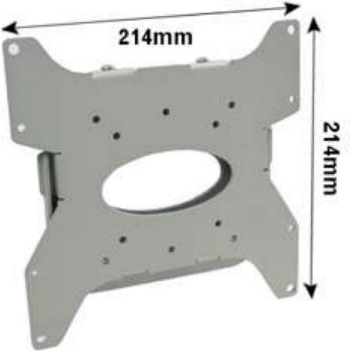 B-Tech BT7532 Medium Flat Screen Wall Mount Silver BT 7532 BT 7532