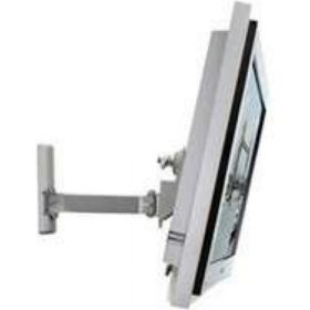 B-Tech BT7534 S Medium Flat Screen Wall Mount With Single Arm Silver