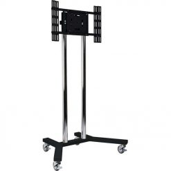 B-Tech BT8504 Universal Plasma LCD TV Screen Stand Trolley Black