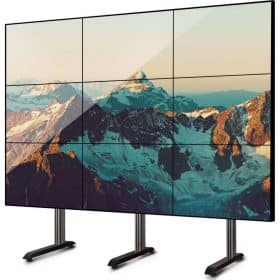 B-Tech BT8370 Universal Video Wall Stand Up to 60 Inch TVs in 2 x 2 Or 3 x 3