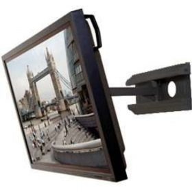 B-Tech BT8413 Heavy Duty Large Flat Screen Wall Mount With Single Arm Black BT 8413 BT 8413