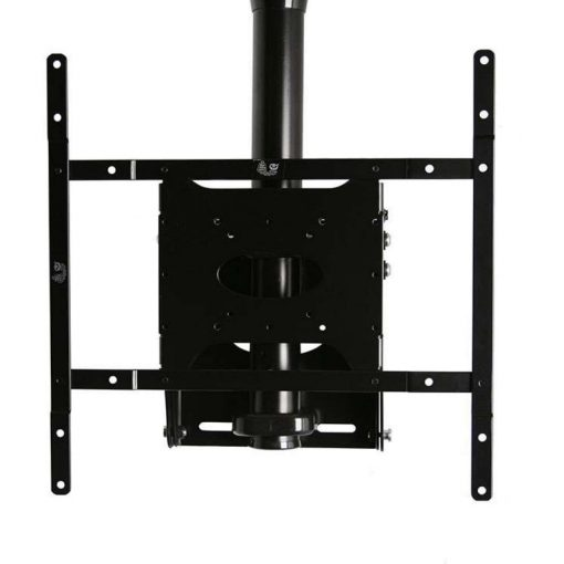 B-Tech BT8426 Adjustable Drop Flat Screen Ceiling Mount Black Sliver BT 8426 BT 8426