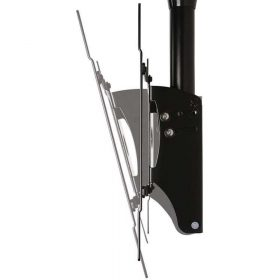 B-Tech BT8426 Adjustable Drop Flat Screen Ceiling Mount Black Sliver BT 8426 BT 8426 1 1