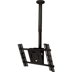 B-Tech BT8426 Adjustable Telescopic Flatscreen Ceiling Mount Black Silver BT 8426 BT 8426