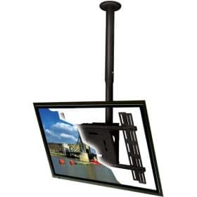 B-Tech BT8427 Adjustable Telescopic Flatscreen Ceiling Mount Black / Silver