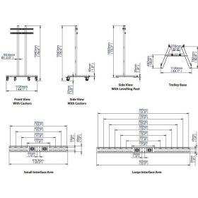 Dimensions Technical Drawing For BT8503
