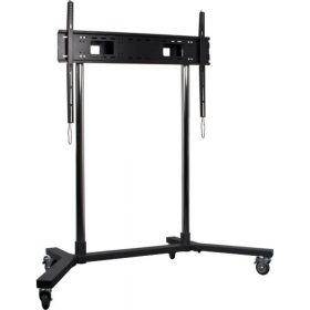 B-Tech BT8506 X-Large / Large TV Stand Televison Trolley Black