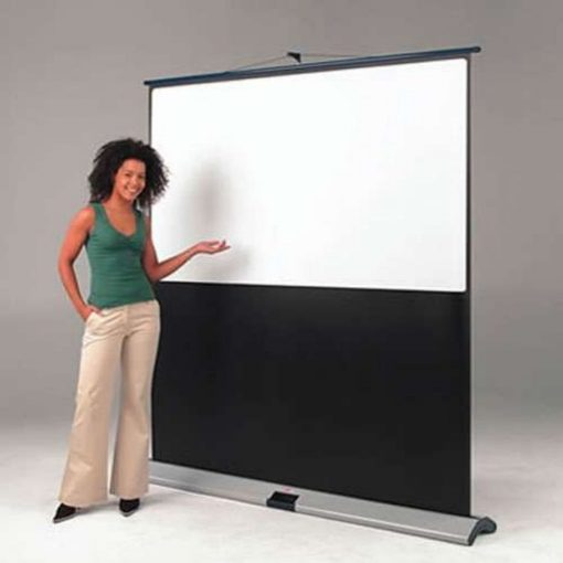Chaseav 201463 Movielux Portable Floor Projector Screen 4 3 Video 90 X 120cm