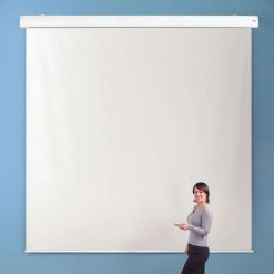 Chaseav 213511 Electric Projector Screen 1 1 Square 1