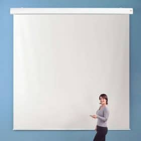 Metroplan 213511 Electric Projector Screen 1:1 Square 350 x 350cm