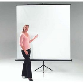Chaseav ET1003 Budget Floor Portable Projector Screen 200 X 200cm ET 1003 ET 1003
