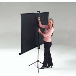 Metroplan ET1000 Budget Tripod Projection Screen 1:1 125cm