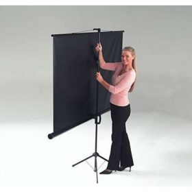 Chaseav ET1003 Budget Floor Portable Projector Screen 200 X 200cm ET 1003 ET 1003 1 1