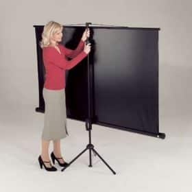 Metroplan LT1000 Leader Tripod Projector Screen 1:1 Square 125cm