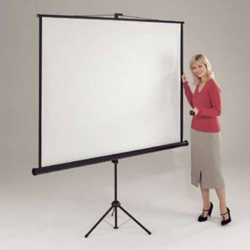 Chaseav Lt1000 Leader Tripod Projector Screen 1 1 Square
