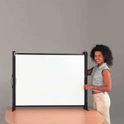 Metroplan SS5500 Tabletop Portable Projection Screen 50 inch