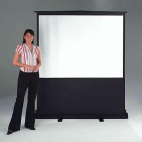 Chaseav Vg6000 Vertigo Portable Floor Projector Screen 2
