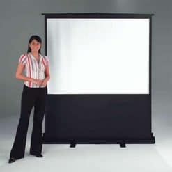 Metroplan VG6000 Portable Floor Projector Screen 4:3 90 x 120cm