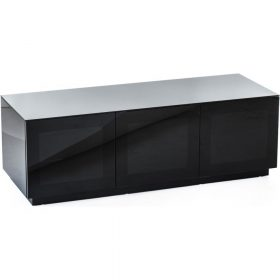 Frank Olsen CHIC 140 Black TV Cabinet Hi Gloss CHIC140BLK