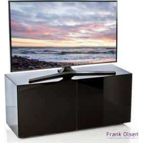 Frank Olsen Furniture INTEL1100BLK High Gloss Black 1100 TV Unit Cabinet