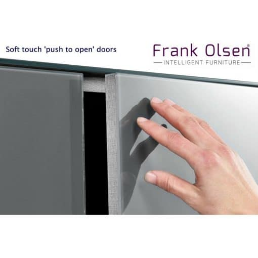 Frank Olsen Intel1100wht Gry Push To Open Door