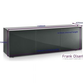 Frank Olsen Intel1500wht Gry Large Grey Ext Dims 2