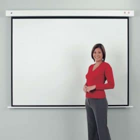 Metroplan RFS180 Rollfix Electric Projector Screen 1:1 1800mm