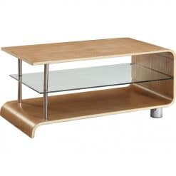 Jual Bali BS203 Coffee Table Ash Clear Glass