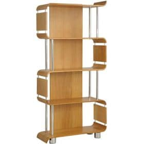 Jual Curve Bs201 Bs Oak Wood Wooden Bookshelf Oak Bs 201 Bs Oak Bs 201 Bs Oak