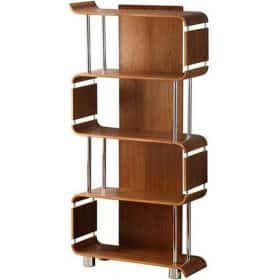 Jual Curve Bs201 Bs Wal Wood Wooden Bookshelf Walnut Bs 201 Bs Wal Bs 201 Bs Wal 1 1