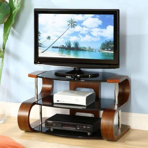 Jual JF203 Curve TV Stand Dressed