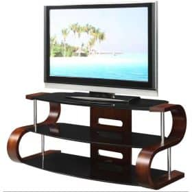 Jual JF203 Curve TV Stand Dressed2