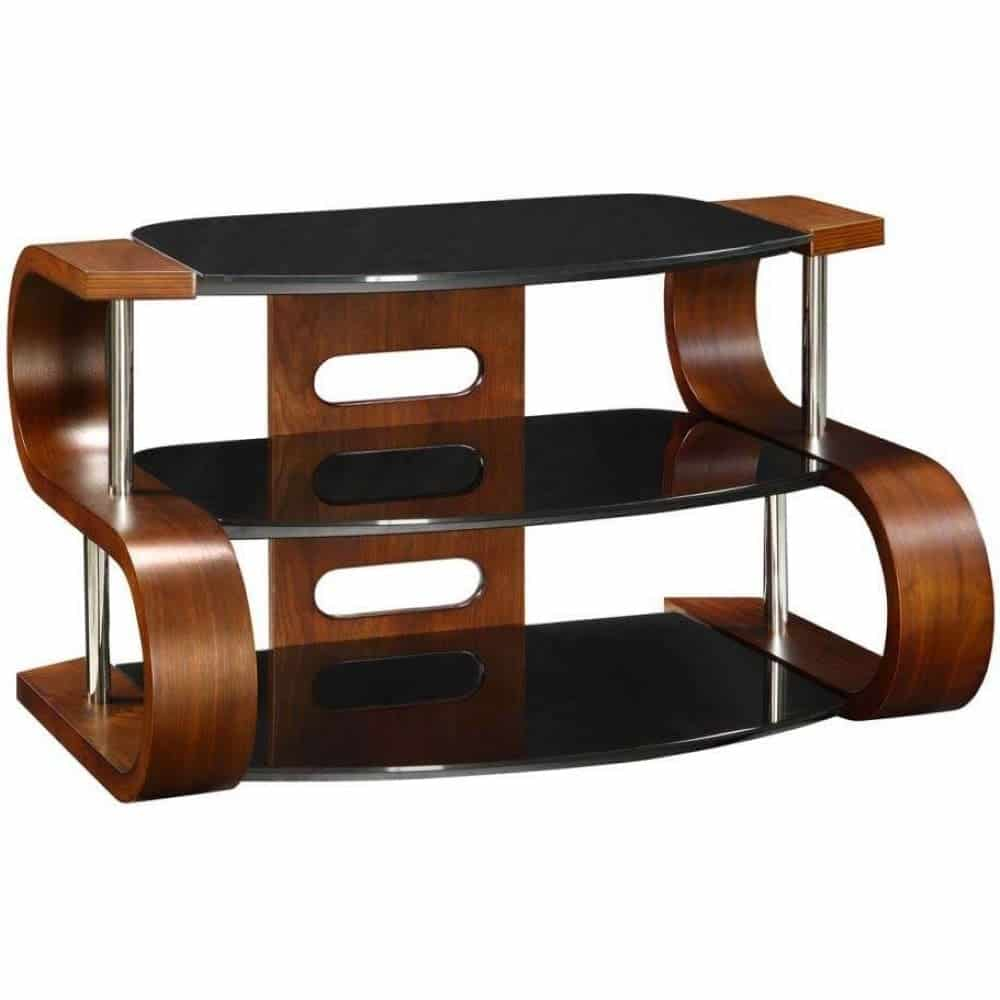 Phenomenal Jual Florence Jf203 Wb 1100 Curve Walnut Tv Stand Wooden Tv Unit Machost Co Dining Chair Design Ideas Machostcouk