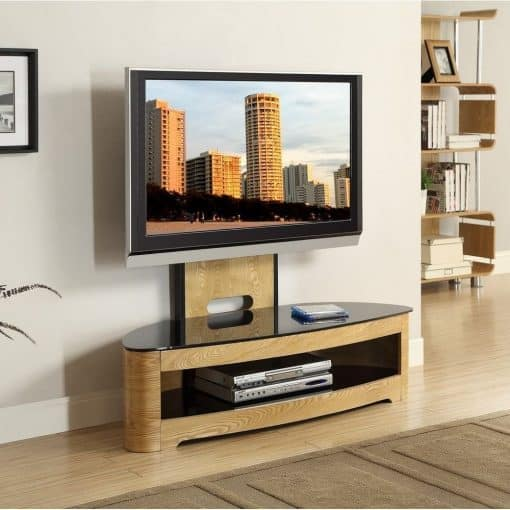 Jual JF209 Cantilever TV Stand Dressed