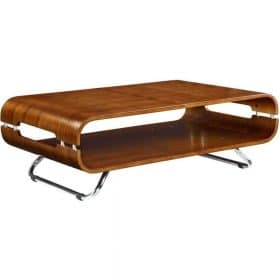 Jual San Marino JF302 Curve Walnut Coffee Table
